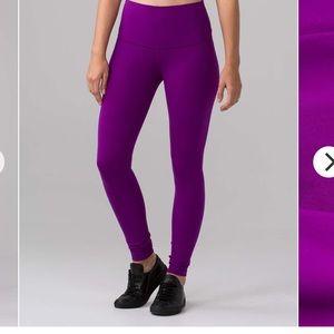 Brand new sz 4 lulu purple wunder under pants